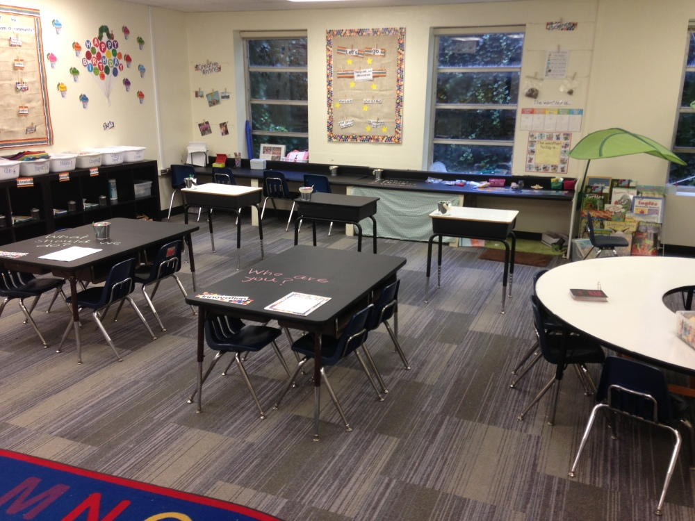 Make learners conform to the room, or make the room conform to the learning? #EdSpace (1/2)
