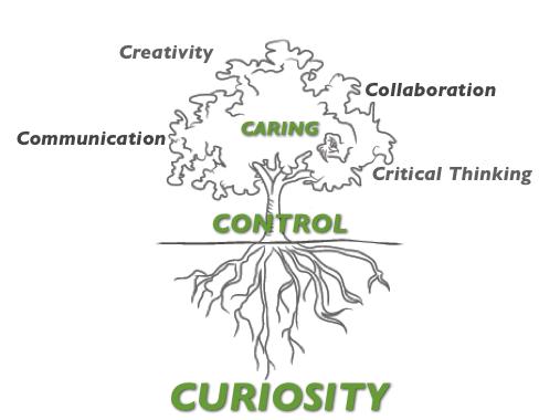 Curiosity Tap Root @boadams1