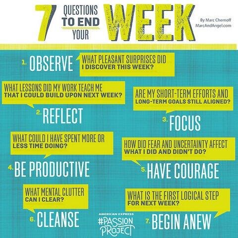 7 Questions to End Your Week - HW